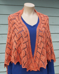 Wedge Shawl Design