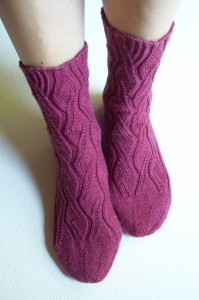 Sidewinder socks